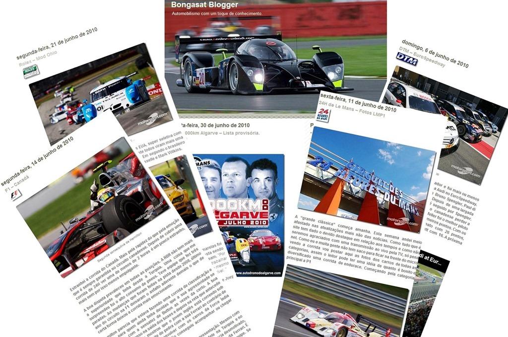 Primeiro layout do site ainda em plataforma blogspot.