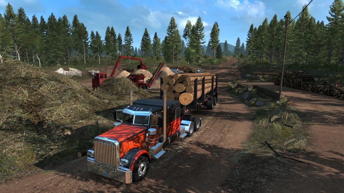 DLC Oregon para American Truck Simulator será lançado em outubro
