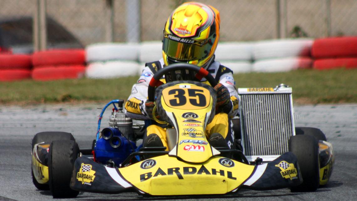 Pelo Open Minas de Kart, Pedro Aizza sobe ao pódio e segue confiante para a Copa Brasil