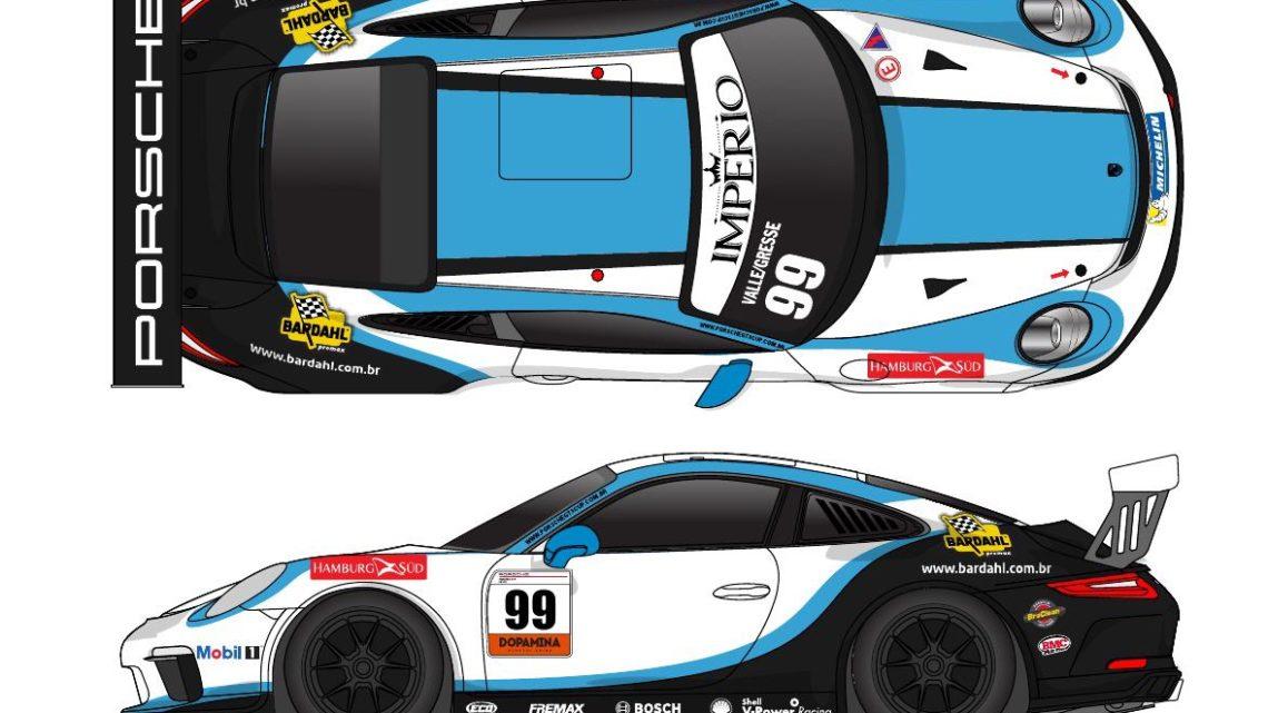 Betinho Gresse e Tom Valle disputam os 300 Km de Goiânia pela Porsche GT3 Cup