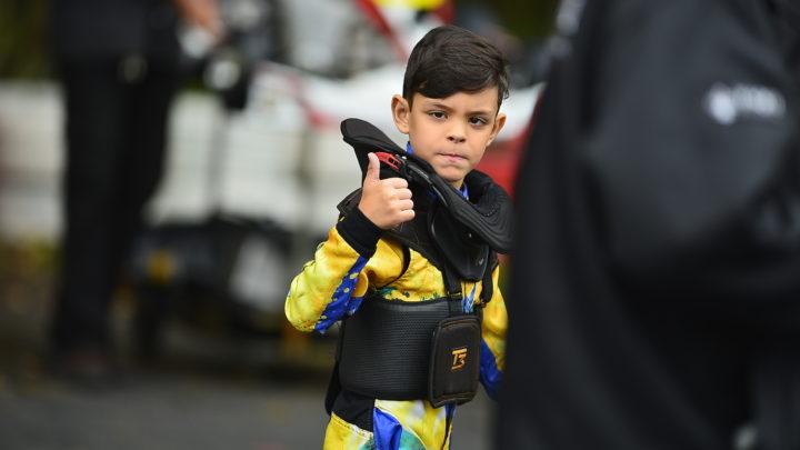 Augustus Toniolo é vice-campeão pelo Paulista Light de Kart