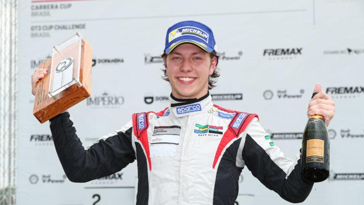 Enzo Elias confiante para última etapa da Porsche Cup em Interlagos