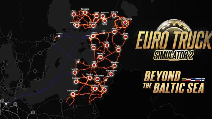 """SCS divulga detalhes e data de lançamento da DLC """"Além do mar Báltico"""" para ETS2"""