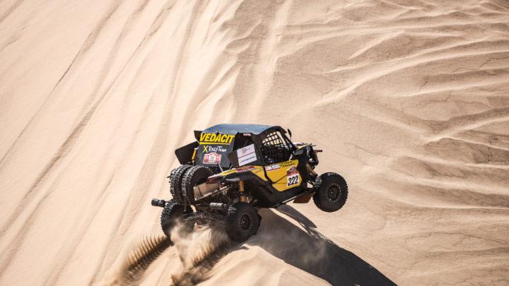 Equipe X Rally Team disputa o Dakar