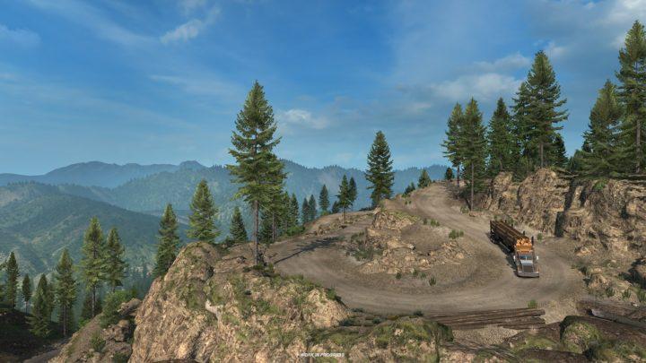 Novas imagens da DLC Washington para ATS são divulgadas