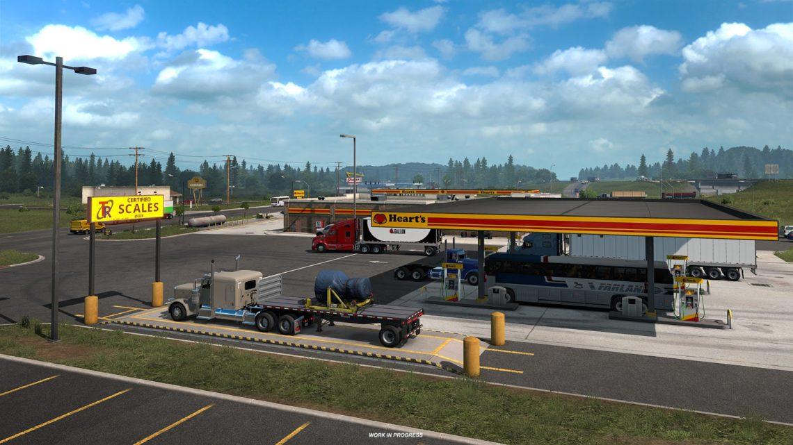 SCS lança DLC Washington e pack de reboques para American Truck Simulator