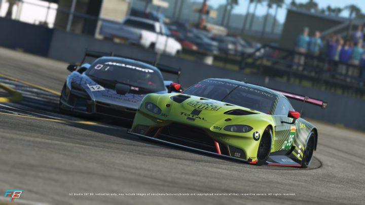 Studio-397 lança DLC com Aston Martin Vantage GTE e McLaren Senna para Rfactor2