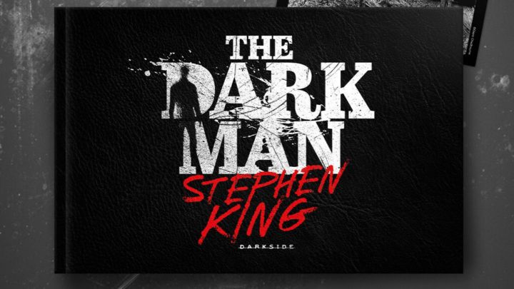 "DarkSide Books lança ""The Dark Man"" de Stephen King"