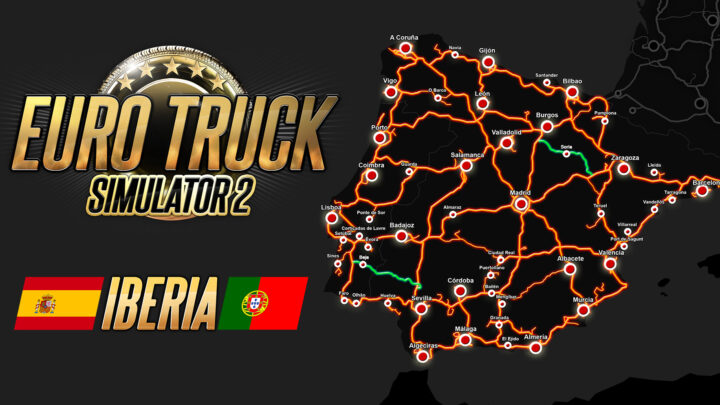 DLC Ibéria receberá novas estradas