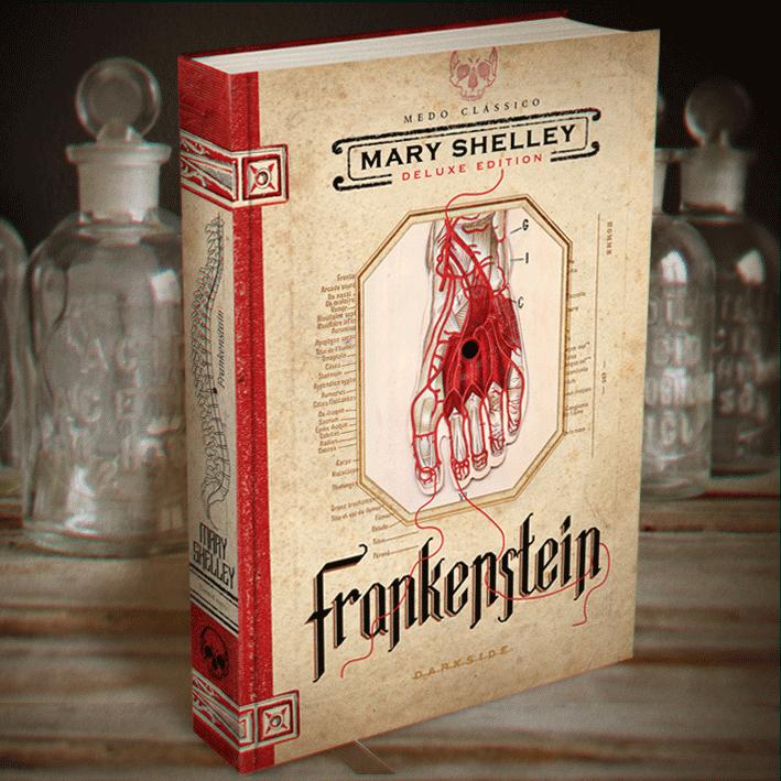 Frankenstein de Mary Shelley o novo livro da DarkSide Books