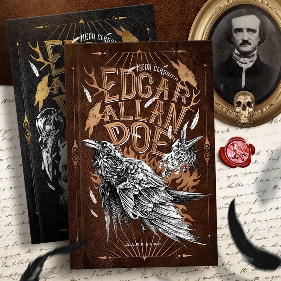 Darkside revela capa do segundo volume de Edgar Allan Poe