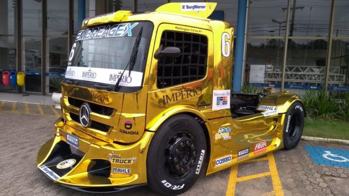 AM Motorsports com novas pinturas na Copa Truck