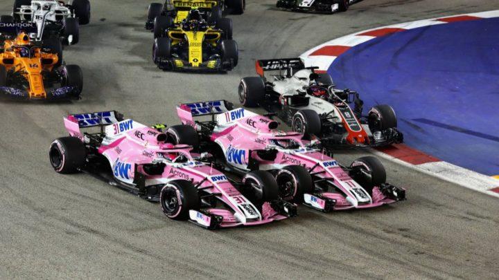 Após acidente em Cingapura, Force India estuda volta do jogo de equipe