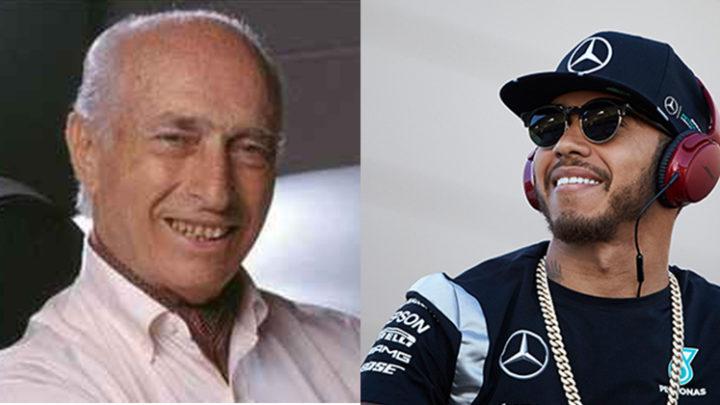 Hamilton e Fangio, 5 títulos em comum