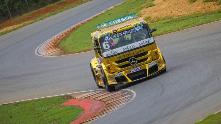 Wellington Cirino marca a pole em Curvelo pela Copa Truck