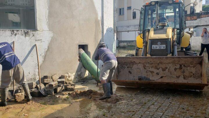 Rompimento de adutora afeta abastecimento de água em Itajaí