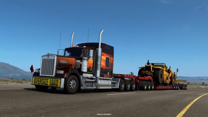 Novas opções de chassis para o American Truck Simulator