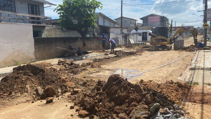Semasa implantará novas redes de esgoto em cinco bairros de Itajaí