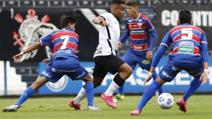 Corinthians perde no Brasileiro Sub-17