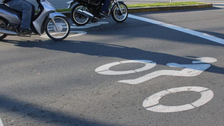 Ruas de Itajaí com mais espaço para motos