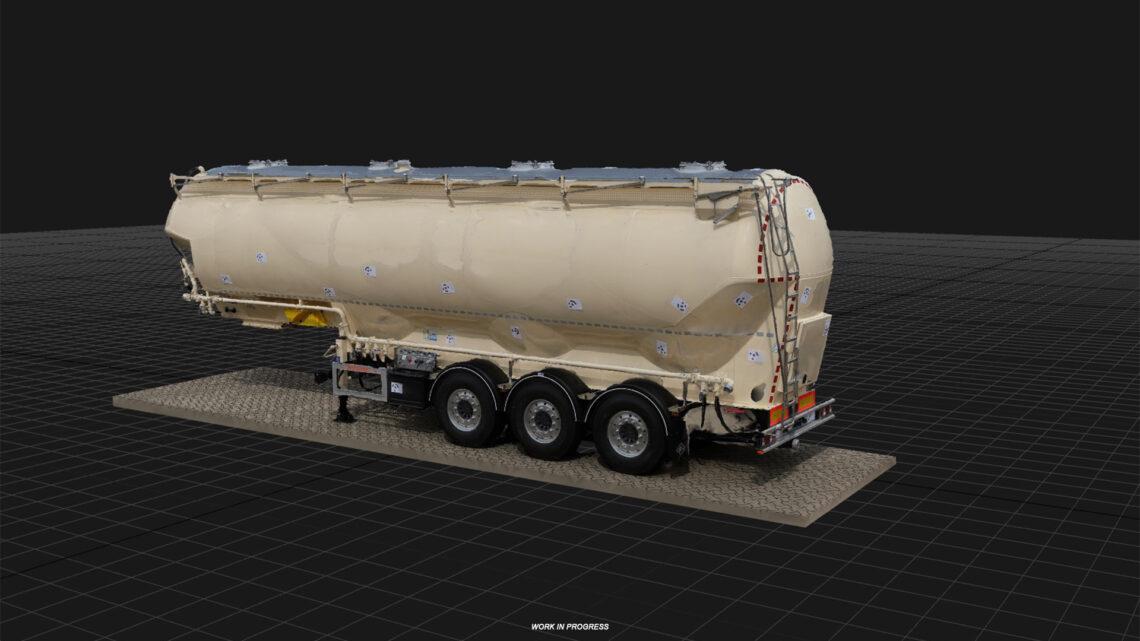 Reboques Feldbinder no ETS2