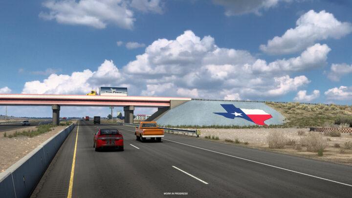 Novas imagens da DLC Texas para o ATS