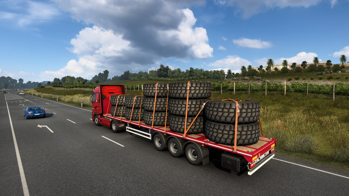SCS lança DLC de equipamentos Volvo para ETS2 e ATS