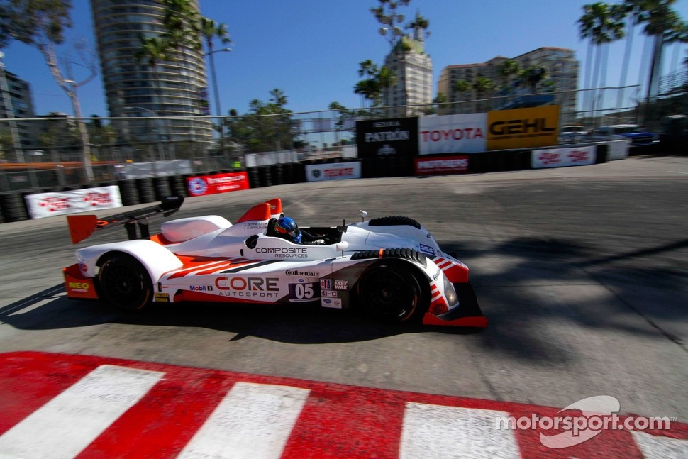 #05 da Core Motorsports superou os LMP2 e chegou em terceiro.