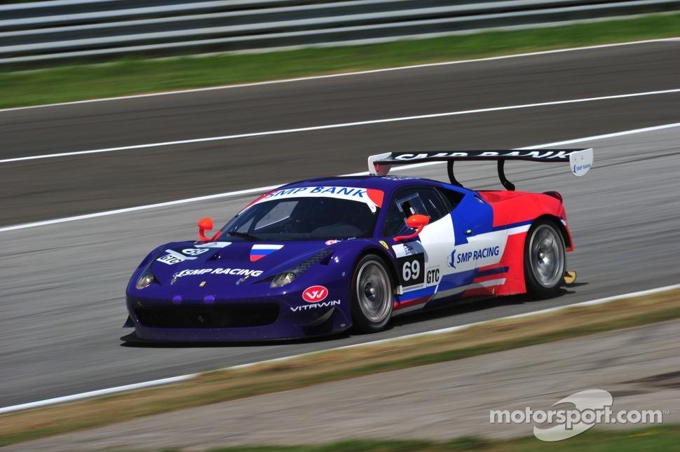 Ferrari também dominando na GTC