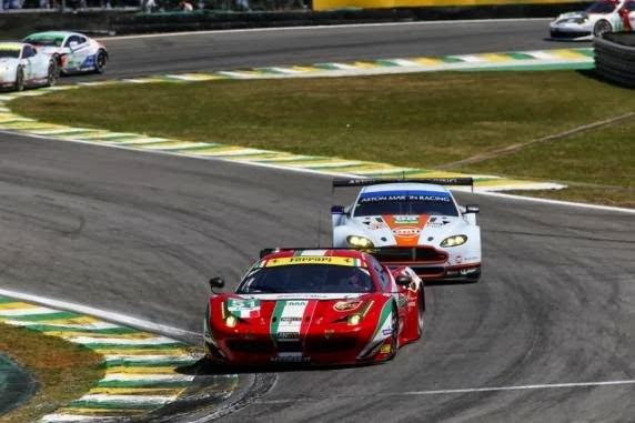 AF Corse vence e fatura campeonato em cima da Aston Martin
