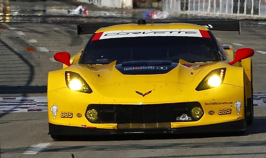 Corvette vence a primeira com novo C7.R