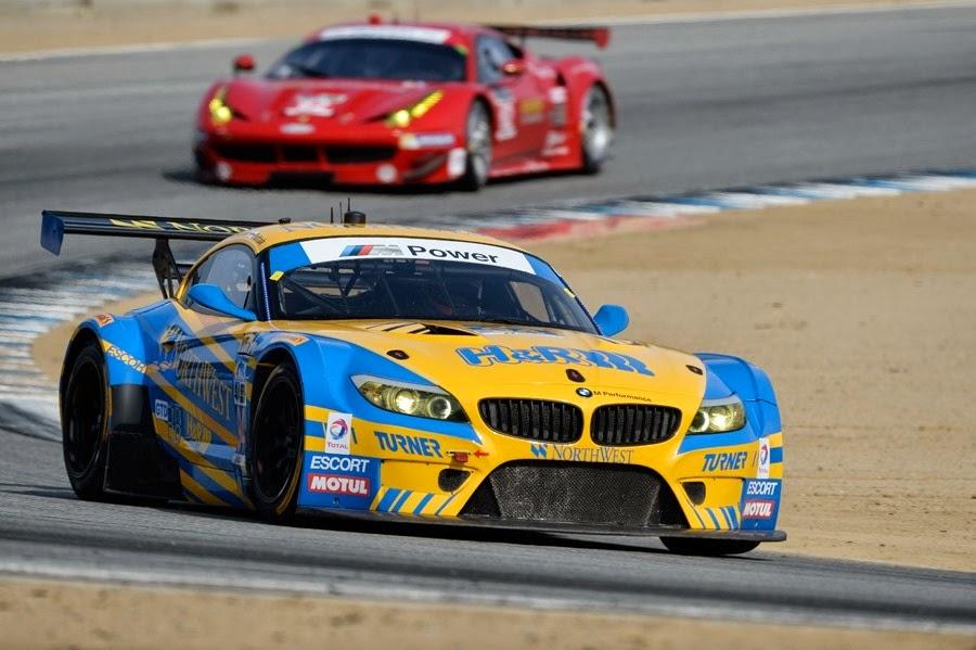 Por 0,168s a vitória na classe GTD, ficou com o BMW da Turner Motorsports.