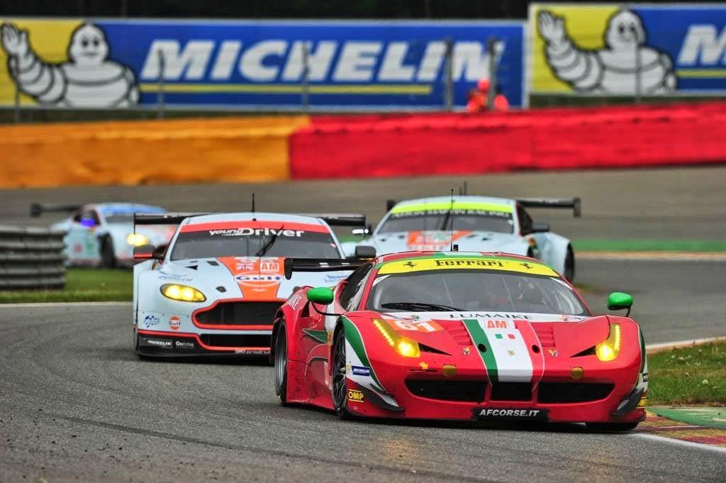 Ferrari #61 vence na GTE-AM com Aston Martin em 2º e 3º.