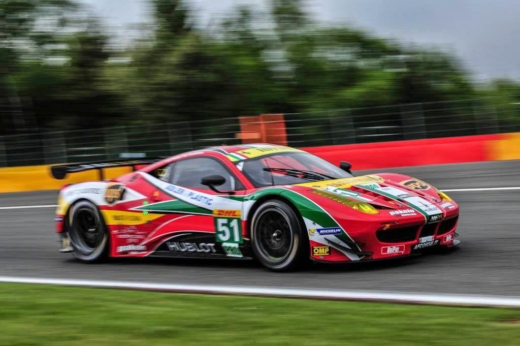 AF Corse vence disputa com Porsche e fatura vitória na GTE-PRO.
