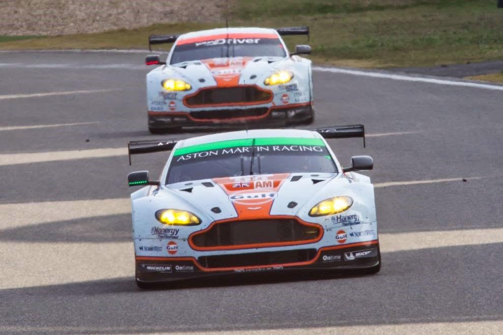 Dobradinha da Aston Martin na GTE-AM