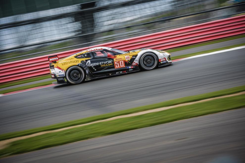 Corvette perdeu a chance de vencer na classe GTE-AM. (Foto: Divulgação WEC)