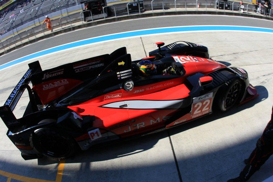 Brabham já competiu pelo WEC em 2012 pela JRM com um HPD LMP1
