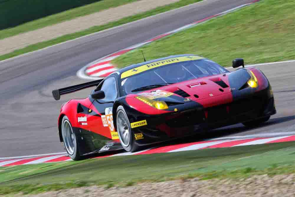 Ferrari #60 vence na classe GTE