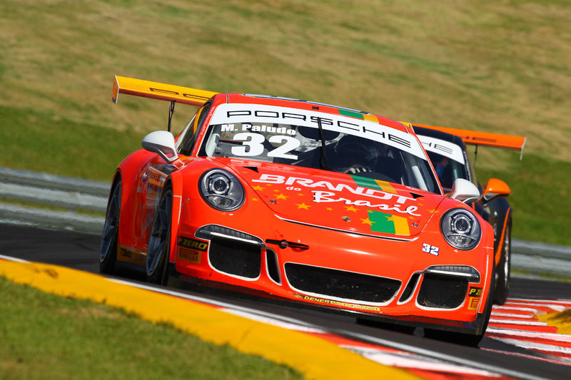 Miguel Paludo lidera a classe Cup com 70 pontos. (Fotos: Divulgação Porsche GT3 Cup)