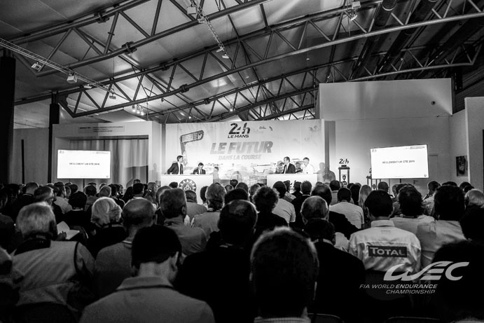 ACO PRESS CONFERENCE - Le Mans 24 Hours at Circuit Des 24 Heures - Le Mans - France