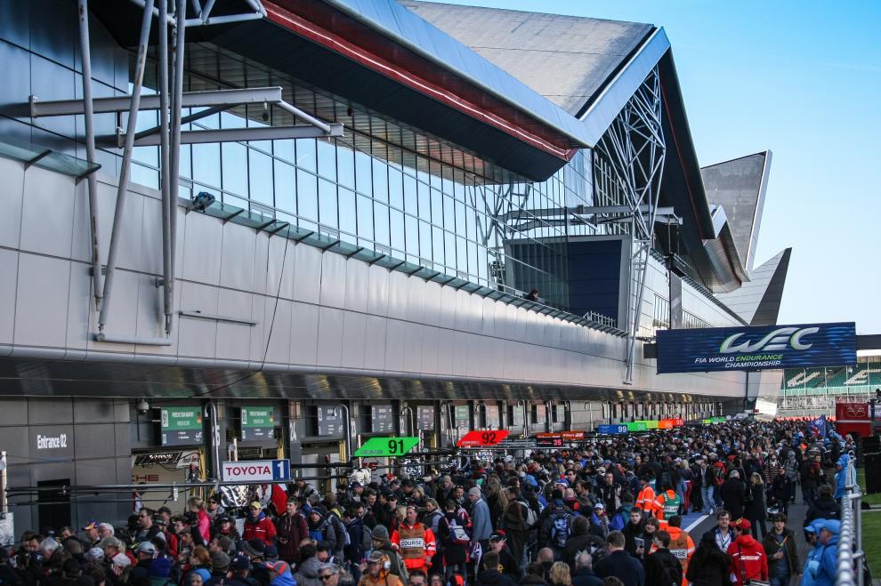 Público durante as 6 horas de Silverstone - Fonte: FIAWEC