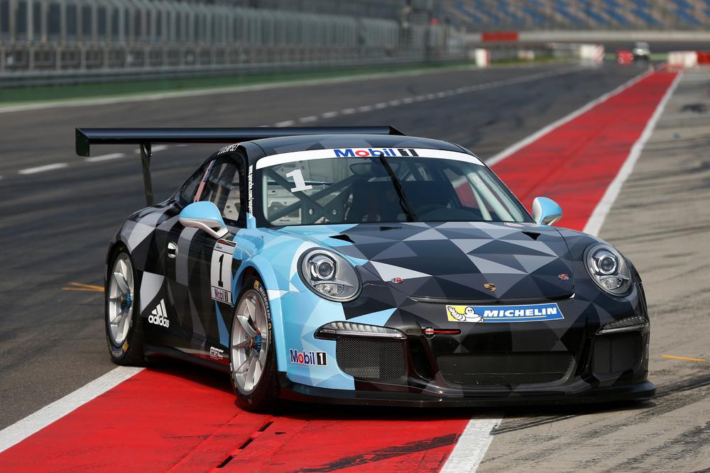 Carro de Dempsey terá as cores do seu 911 RSR do WEC. (Foto: Divulgação Porsche AG)