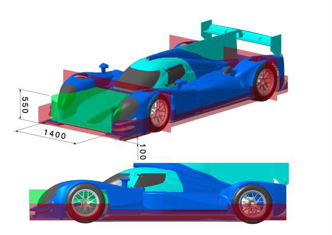 Foto 4 - Áreas em vermelho não podem ser alteras, já as partes verdes podem ser modificadas.