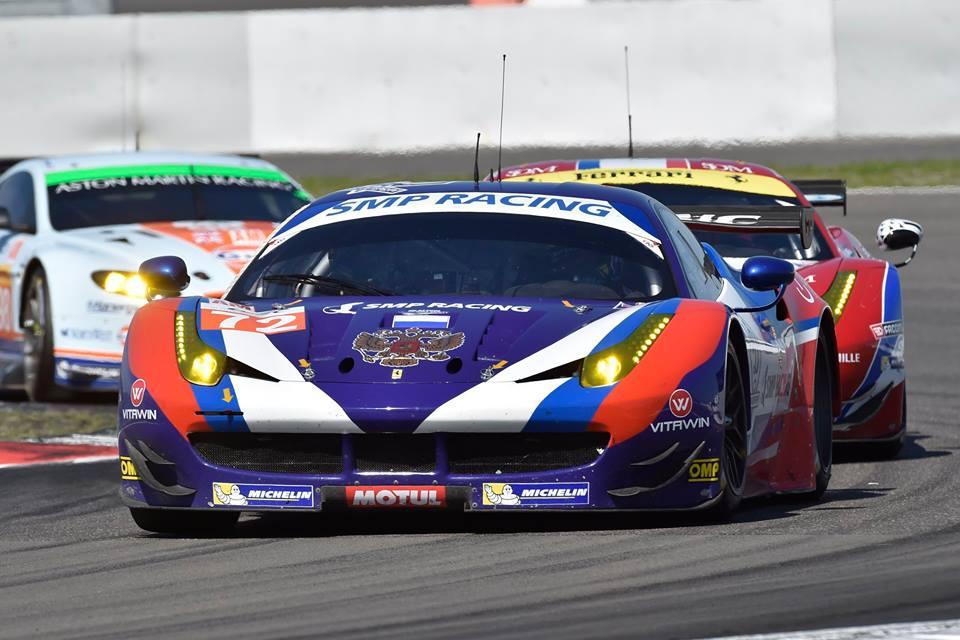 Após disputa com Aston Martin, SMP Racing vence na GTE-AM. (Foto: Divulgação SMP Racing)