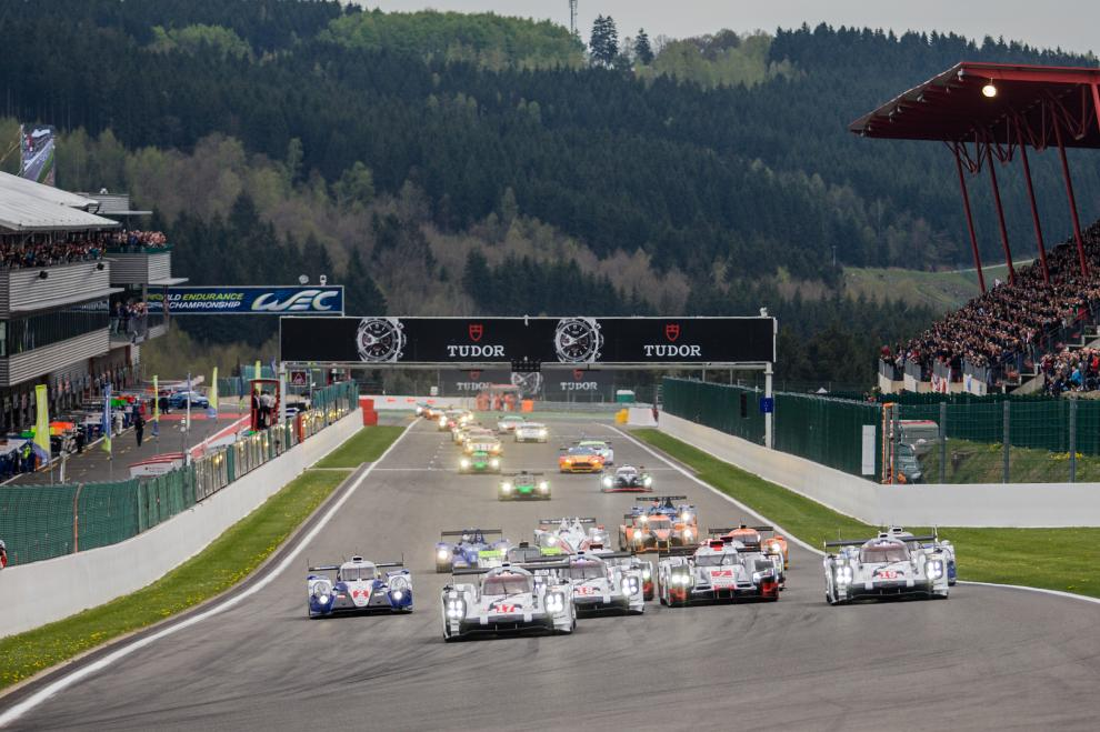 As 6 horas de SPA, antecederam as 24 horas de Le Mans. (Foto: Divulgação FIAWEC)