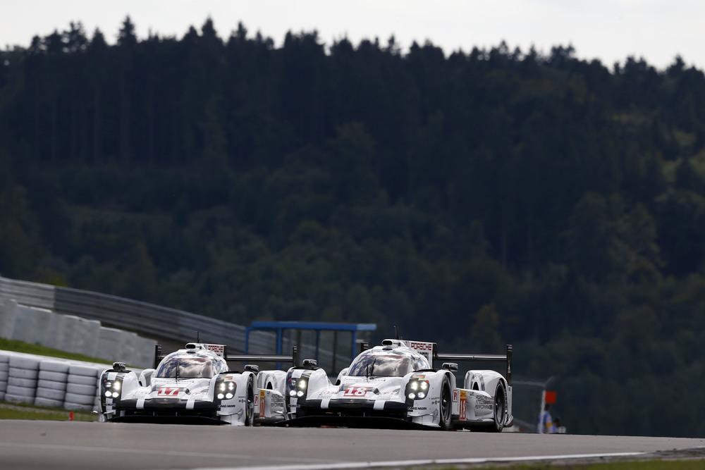 Equipe enfrentou problemas com o #18. (Foto: Porsche AG)