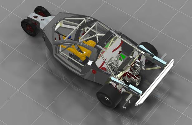 Próxima fase do projeto é a versão GT do protótipo.  (Foto: Divulgação DeltaWing)