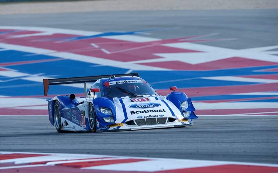Ford superou o favoritismo dos Corvette. (Foto: IMSA)