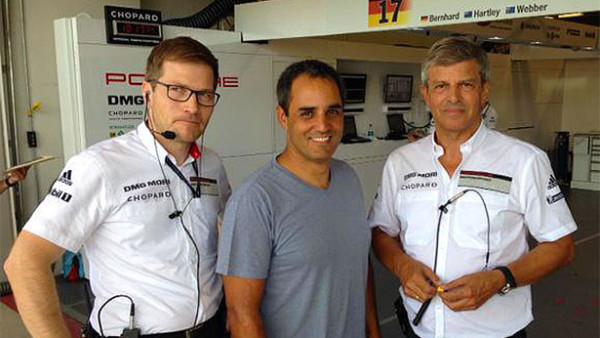 Colombiano pode seguir os passo de Mark Webber? (Foto: Porsche AG)