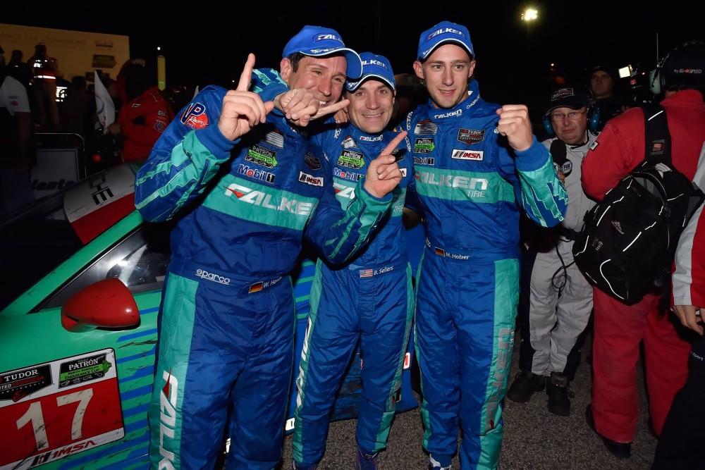 A segunda vitória em Petir Le Mans em 2014. (Foto: IMSA)